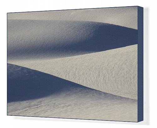 Canvas Print Of White Sands In The Tularosa Basin