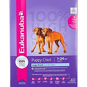Eukanuba Large Breed Puppy Food, 33 lbs.