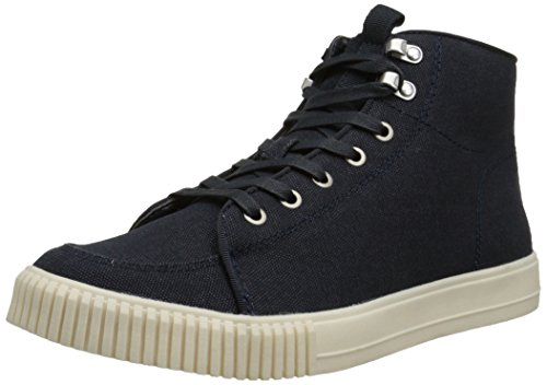 CK Jeans Men's Jenson Canvas Fashion Sneaker, Midnight, 12 M US