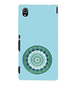 iFasho Modern Art Om design pattern in kundli Back Case Cover for Sony Xperia M4 Aqua / Dual