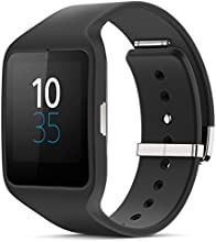 "Sony Smartwatch 3 Classic - Smartwatch Android (pantalla 1.6"", 4 GB, Quad-Core 1.2 GHz, 512 MB RAM), negro"