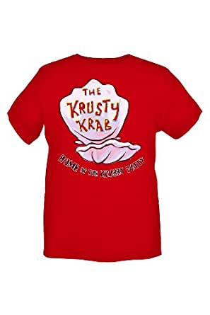 SpongeBob SquarePants Krusty Krab T-Shirt Size : Medium