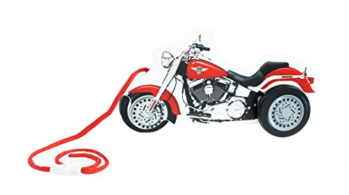 Kids Preferred Buildex Harley Davidson Wooden Motorcycle Pull Toy with Sound - 1