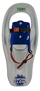 Tubbs Snowshoes SnowGlow Snowshoes, Pearl/Glow, 16-Inch