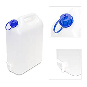 Eda Plastiques - Jerrican alimentaire+ robinet 10 l 10585