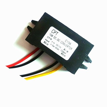 Autek Waterproof Dc/Dc Converter 12V Step Down To 6V 15W Max 3A Power Supply E063(Dccon-C156)