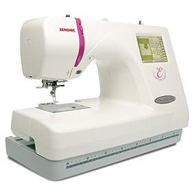 Janome Memory Craft 350E Embroidery Machine width=