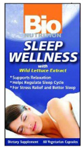 Bio Nutrition Sleep Wellness 60 Vcaps