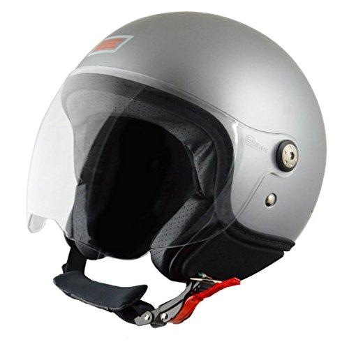 Origine helmets 201583023200004 Casque Mio, Taille : M, Opaque Argenté Matt