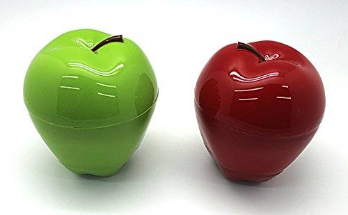 Hutzler Apple & Dip to -go Red and Green 2pc set