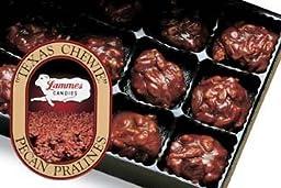 Lammes Texas Chewie Pecan Praline 2 Lb Box