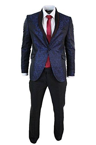 costume-smoking-homme-brillant-satine-bleu-violet-noir-coupe-cintree-slim