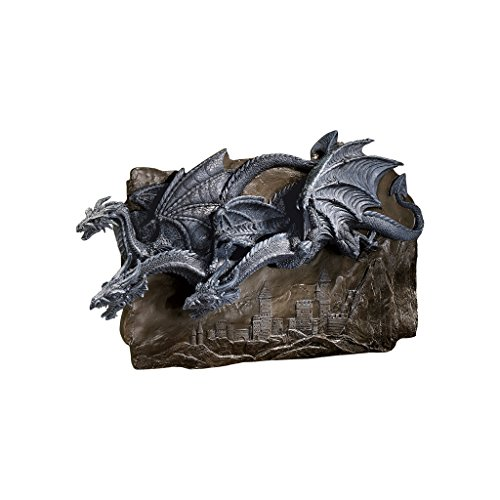 Progettazione Toscano CL3795 Drago della scultura muro Castello di Morgoth