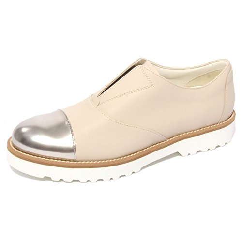 B0661 sneaker donna HOGAN ROUTE slip-on beige shoe woman [38]