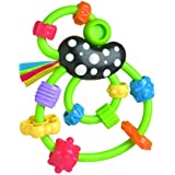 Playgro Giggle Squiggle Rattle, Green, Red, Blue