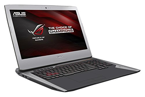 "Asus ROG G752VS-BA171T PC portable Gamer 17.3"" FHD Argent (Intel Core i7, 16 Go de RAM, Disque dur 1 To + SSD 256 Go, Nvidia GeForce GTX 1070 8G, Windows 10, Garantie 2 ans)"