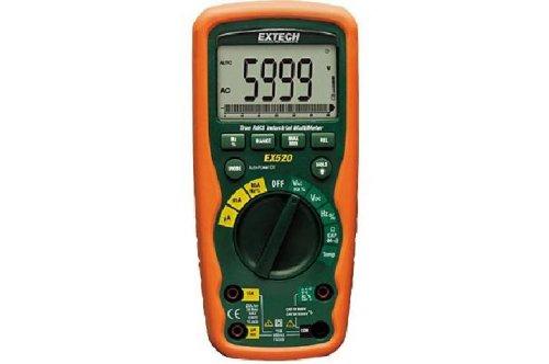 Extech Ex520 True Rms Heavy Duty Industrial Multimeter