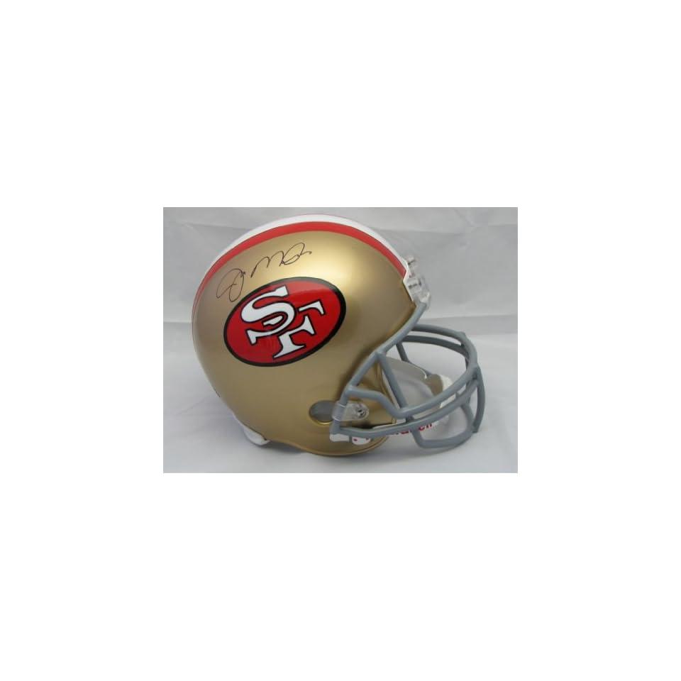 Joe Montana Hand Signed Autographed San Francisco 49ers Full Size Riddell Pro