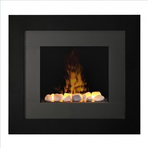 Dimplex Dtrdy Redway Opti-Myst Wall-Mounted Fireplace Surround, Black