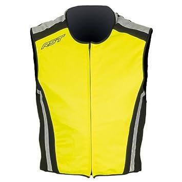 Nouvelle veste de moto de la sécurité RST pour Flo jaune