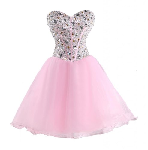 MerMaid Women's Prom Ball Gown Dress Color Pink Size 2