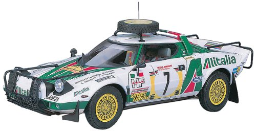 Hasegawa Lancia Stratos HF '77 Safari Rally/New Parts Model Kit