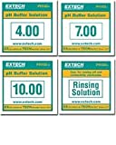 Extech PH BUFFER SOLUTIONS, 20PK INCLUDES PH 4,7,10,RINSE Product ID: PH103