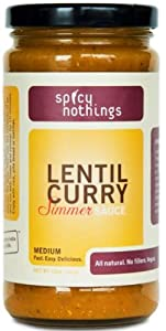 Spicy Nothings Lentil Curry Daal by Spicy Nothings