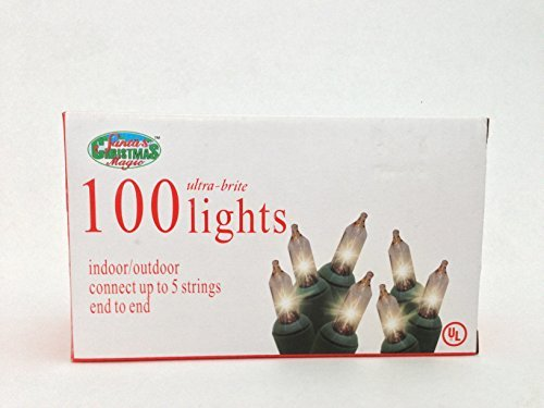 100-ultra-brite-lights-clear-bulbs-green-wire