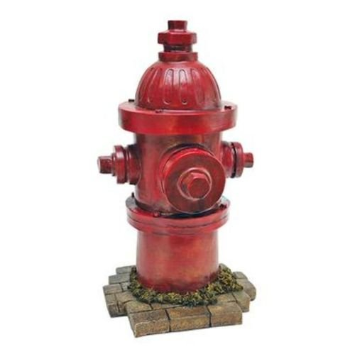 Dog Fire Hydrant Yard Garden Indoor Outdoor Resin Statue 14' (Dog Outdoor compare prices)