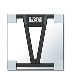 Ideas In Motionts-6/2304 LCD Display Talking Body Weight Bathroom Scale