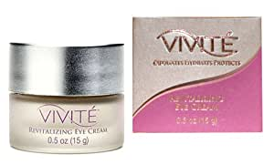 VIVITÉ Revitalizing Eye Cream, 0.5-Ounce Jar