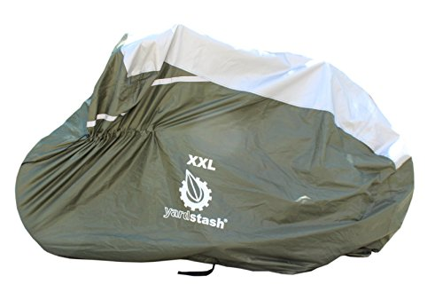 YardStash-Bicycle-Cover-XXL-for-2-3-Bikes-and-Trikes-High-Quality-Cover-for-3-Bikes-Trike-Cover-Beach-Cruiser-Cover-29er-Bike-Cover-Electric-Bike-Cover-Cover-for-Bikes-wBaskets-or-Racks