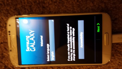 Samsung M919 Galaxy S4 IV Phone White T-Mobile Inbox Clean ESN by Samsung
