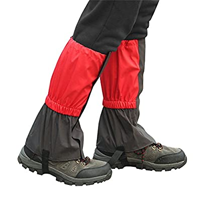 Unisex Snow Proof Waterproof Gaiters Legging Leg Covers Wraps for Outdoor Climbing Skiing Hiking Hunting