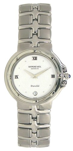 Raymond Weil Parsifal Stainless Steel Mens Watch 9195-ST-00307