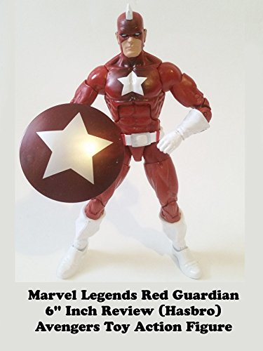 "Marvel Legends RED GUARDIAN 6"" Inch Review (Movie Giant Man BAF) Avengers toy action figure"