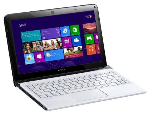 SONY SVE1112M1EW.CEK Vaio SVE-1112M1E Notebook AMD Dual Core 1.7GHz 4GB 500GB 11 inch NO OPTICAL DRIVE, WLAN BT Windows 8 (Radeon HD 7340M)