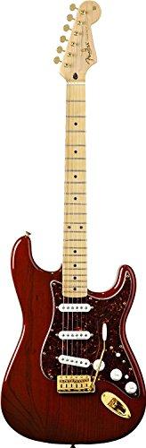 Fender Deluxe Players Strat, Maple Fretboard - Crimson Red Transparent