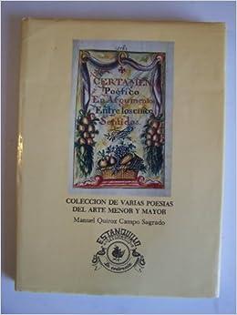 Coleccion de varias poesias del arte menor y mayor en obsequio de la