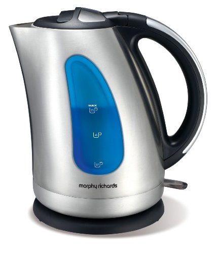 Morphy Richards 43733 Jug Kettle, Brushed Stainless Steel from Morphy Richards
