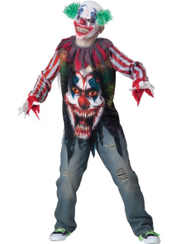 Incharacter Costumes Big Top Terror Costume, Size 12, X-Large front-668753