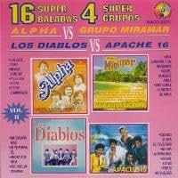 4 SUPER GRUPOS : 16 SUPER BALADAS