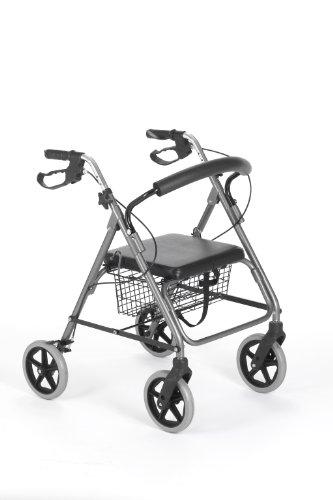 Powertek 4 Wheel Indoor/ Outdoor Rollator