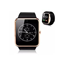 buy Hameng® Bluetooth Smart Watch With Sim Card Slot And Nfc Smart Health Watch For Android Samsung Htc And Ios Apple Iphone Smart Phone Bracelet Smart Watch-Gt08 Gold
