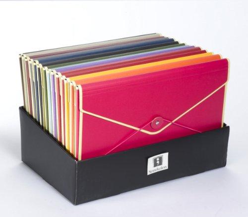 Kuvertmappe rot +++ Dokumentenmappe +++ SEMIKOLON Qualität