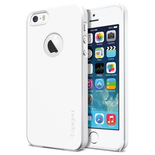 SPIGEN SGP 国内正規品SPIGEN SGP iPhone 5s / 5 ケース ウルトラ・フィットA [スムース・ホワイト] ECO-Friendly Packaging SGP10533