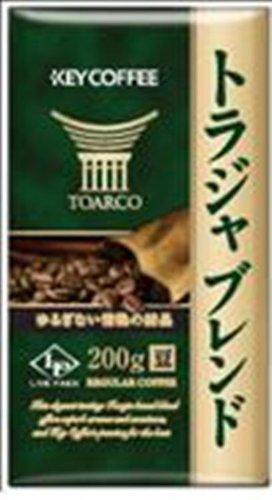キーコーヒー LP トラジャブレンド 200g (豆)