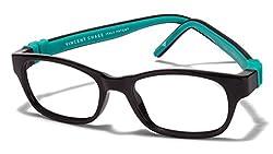 Vincent Chase Flex VC 8027 Black Green C2 Kids' Eyeglasses (Kids 1-5 yrs)