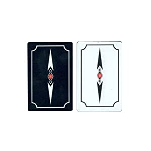 Gemaco Stiletto 100% Plastic Playing Cards - 2 Decks